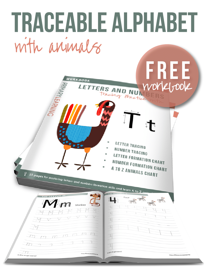 Free Animal Alphabet Tracing Pages Free Homeschool Deals