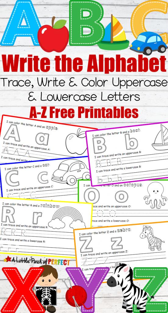 free abc letter printables free homeschool deals. Black Bedroom Furniture Sets. Home Design Ideas