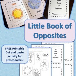 FREE Little Book of Opposites