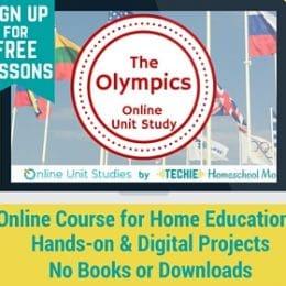FREE Olympics Online Unit Study