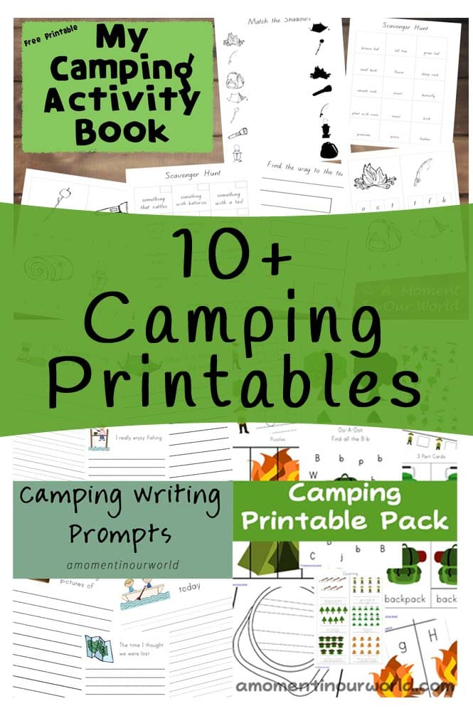 FREE 10+ Camping Printables : Free Homeschool Deals