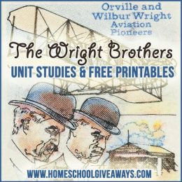 FREE The Wright Brothers Unit Studies and Printables