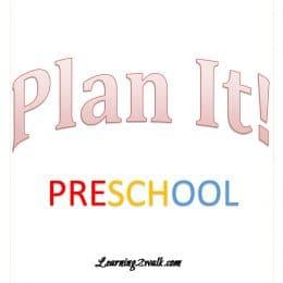 FREE Preschool Planner