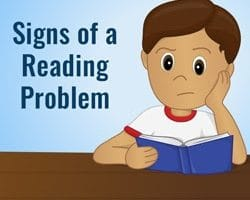 Signs Your Child Has a Reading Problem