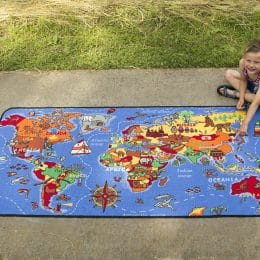 Where in the World Learning Carpet Only $27 – Today Only! (Reg. $50!)