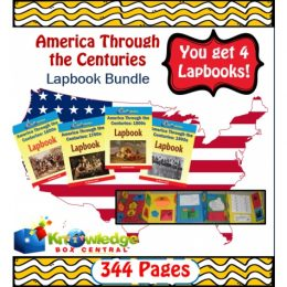 America Through the Centuries Lapbook Bundle Only $10.79! (Reg. $20!)