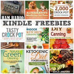KINDLE FREEBIES: Indoor Kitchen Gardening, Crock Pot Recipes Cookbook + More!