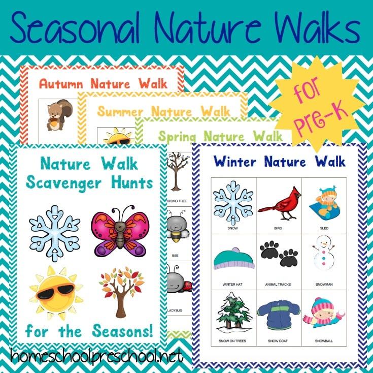 free preschool nature walk printables free homeschool deals. Black Bedroom Furniture Sets. Home Design Ideas
