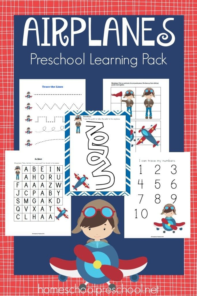 FREE Preschool Learning pack