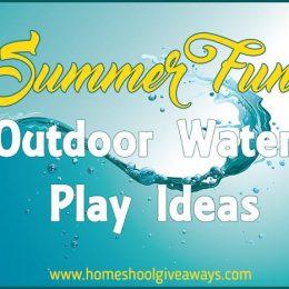 FREE Summer Fun Outdoor Play Ideas