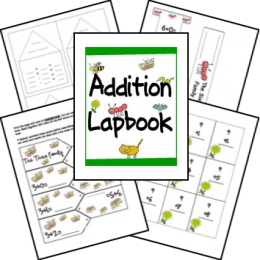 FREE Addition Facts Lapbook