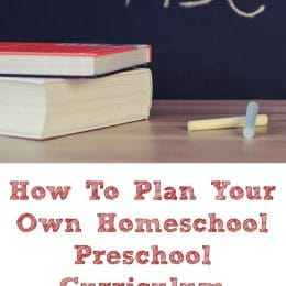 FREE Homeschool Preschool Planning eCourse