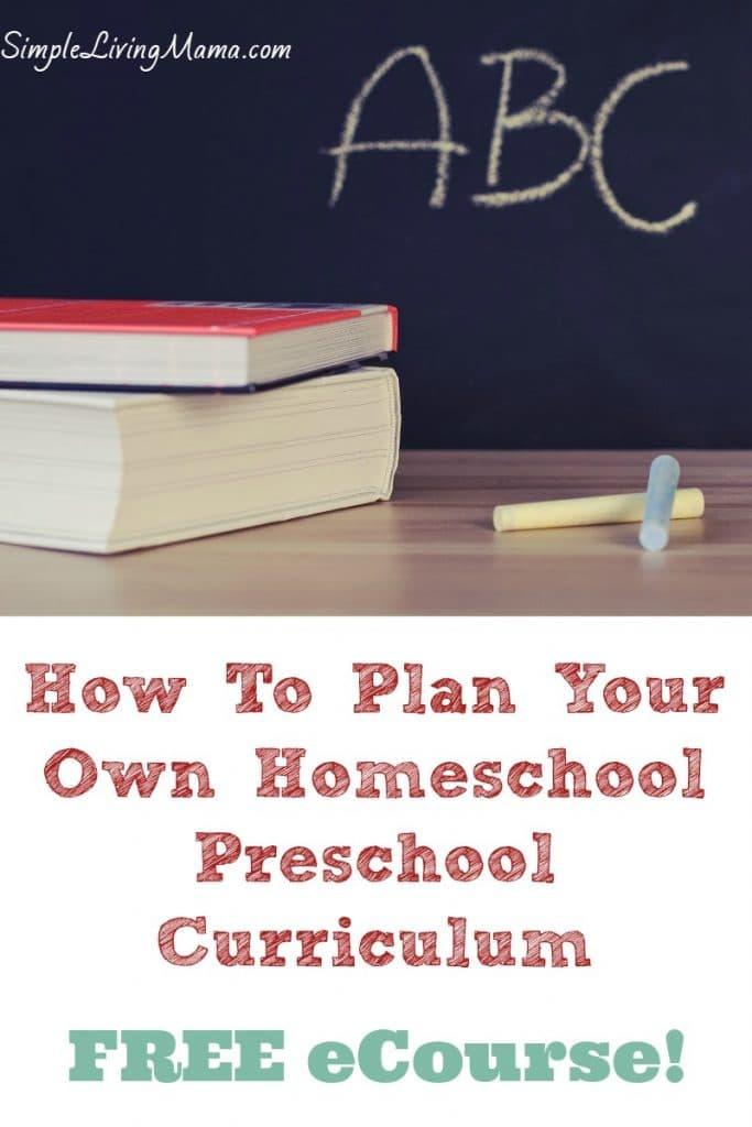 FREE Homeschool Planning eCourse