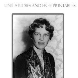 FREE Amelia Earhart Unit Studies and Printables