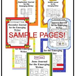 Free Sample Journal for Emerging Writers