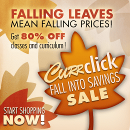 Fall Sale at Currclick – Up to 80% Off!