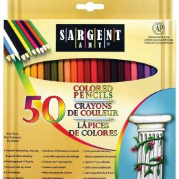 Sargent Art Colored Pencils 50 Pack Only $3.98! (58% Off!)