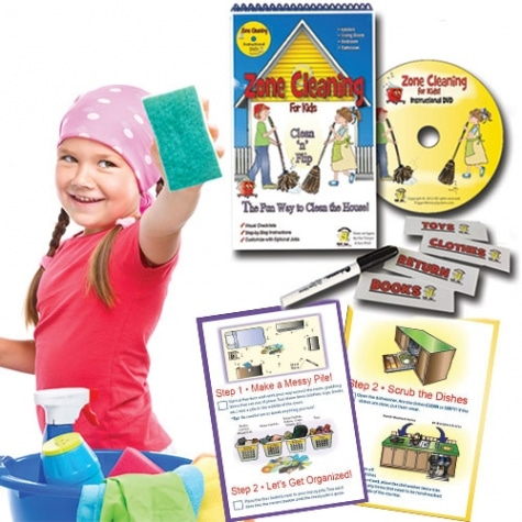 Zone Cleaning for Kids Clean 'n' Flip Only $19.95 + Free Shipping!