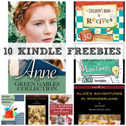 10 KINDLE FREEBIES: Children's Book of Experiments, The Green Gables Collection + More!