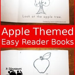 FREE Apple Themed Easy Readers