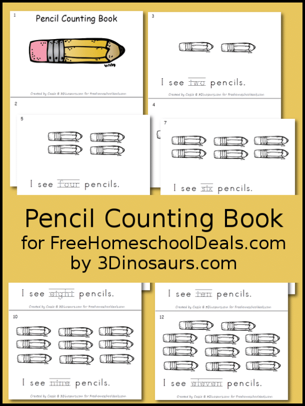 Pencil Counting Book