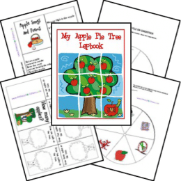 FREE Apple Pie Tree Lapbook