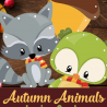 FREE Autumn Lacing Cards