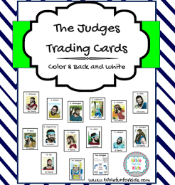 FREE Judges Bible Trading Cards