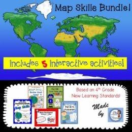 Map Skills Interactive Bundle Only $14! (Reg. $25!)