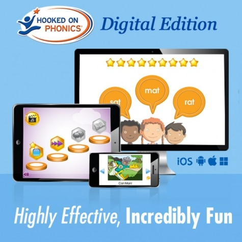 Hooked On Phonics Learn to Read App Only $29.95 (Reg. $50!)