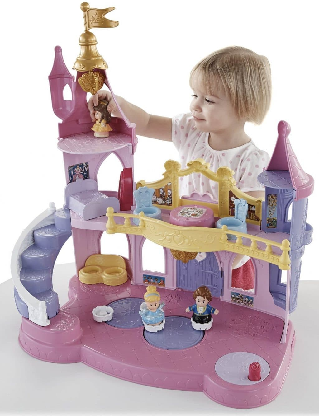 Little People Disney Princess Musical Dancing Palace Only $18.90! (Reg. $30!)