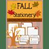 Free Fall Themed Stationery