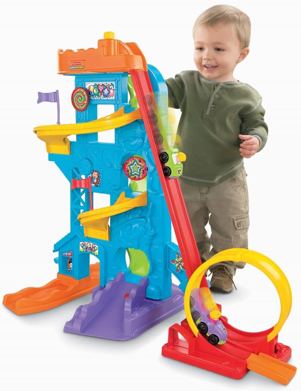 Little People Loops 'n Swoops Amusement Park Only $35! (Reg. $45!)