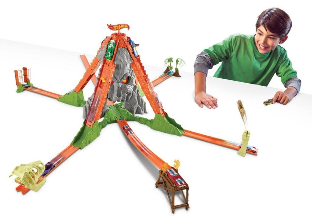 Hot Wheels Volcano Escape Track Only $23.47! (48% Off!)