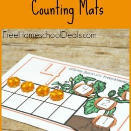 FREE PUMPKIN COUNTING MATS (Instant Download)