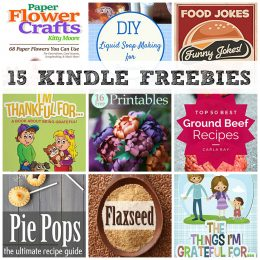 15 KINDLE FREEBIES: Healthy Crock Pot, 16 Free Printables + More!