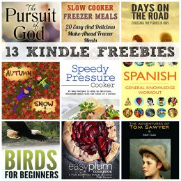 13 KINDLE FREEBIES: Slow Cooker Freezer Meals, ABCs Animals from Africa + More!