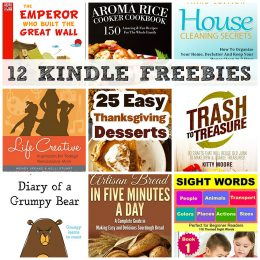 12 KINDLE FREEBIES: 25 Easy Thanksgiving Dessert Recipes, House Cleaning Secrets + More!