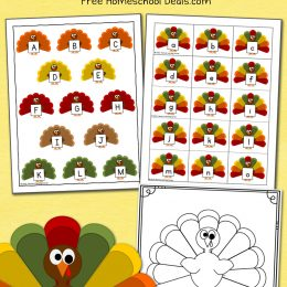 FREE THANKSGIVING FILE FOLDER GAME (Instant Download)