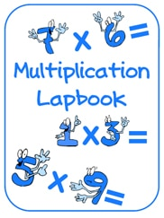 FREE Multiplication Lapbook