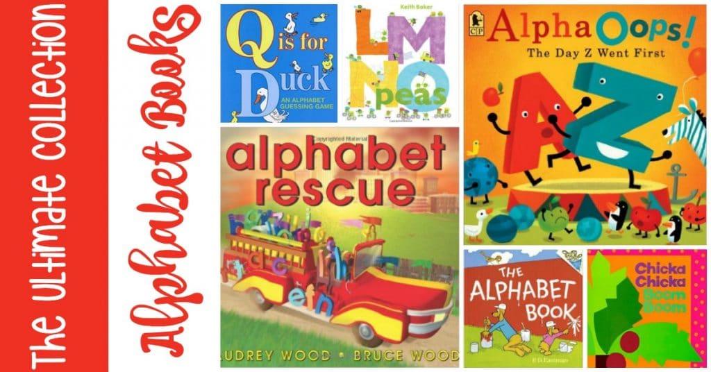 FREE Alphabet Book Printable List