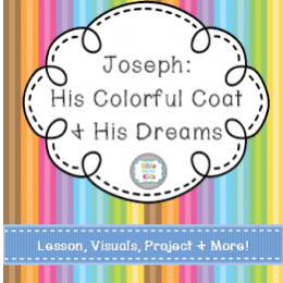 FREE Joseph and His Coat of Dreams Lesson