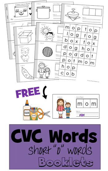 Cvc worksheets free download