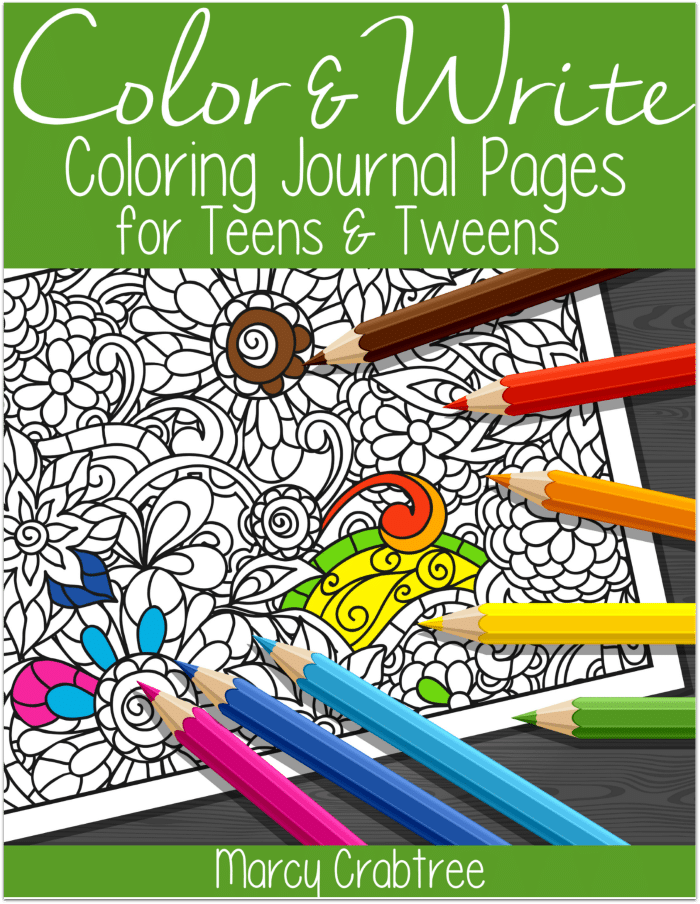 FREE Color and Write Journal for Teens