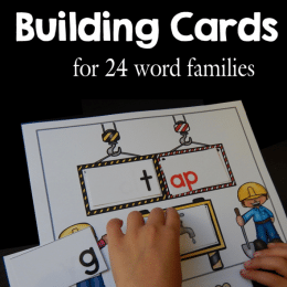 FREE Word Building Cards Set
