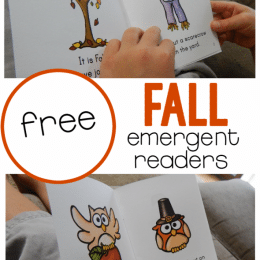 FREE Fall Sight Words Readers