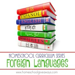 FREE Homeschool Series: Foreign Languages