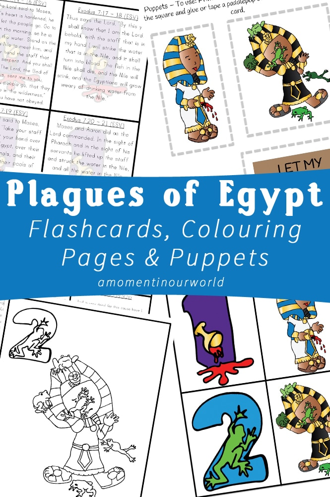 FREE Plagues of Egypt Pack Free