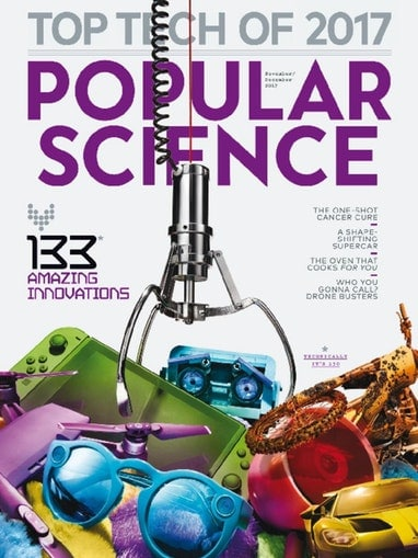 Popular Science Magazine Only $3.89/Year! (91% Off!)