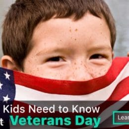 What Kids Need to Know About Veteran's Day